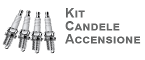Kit candele d'accensione