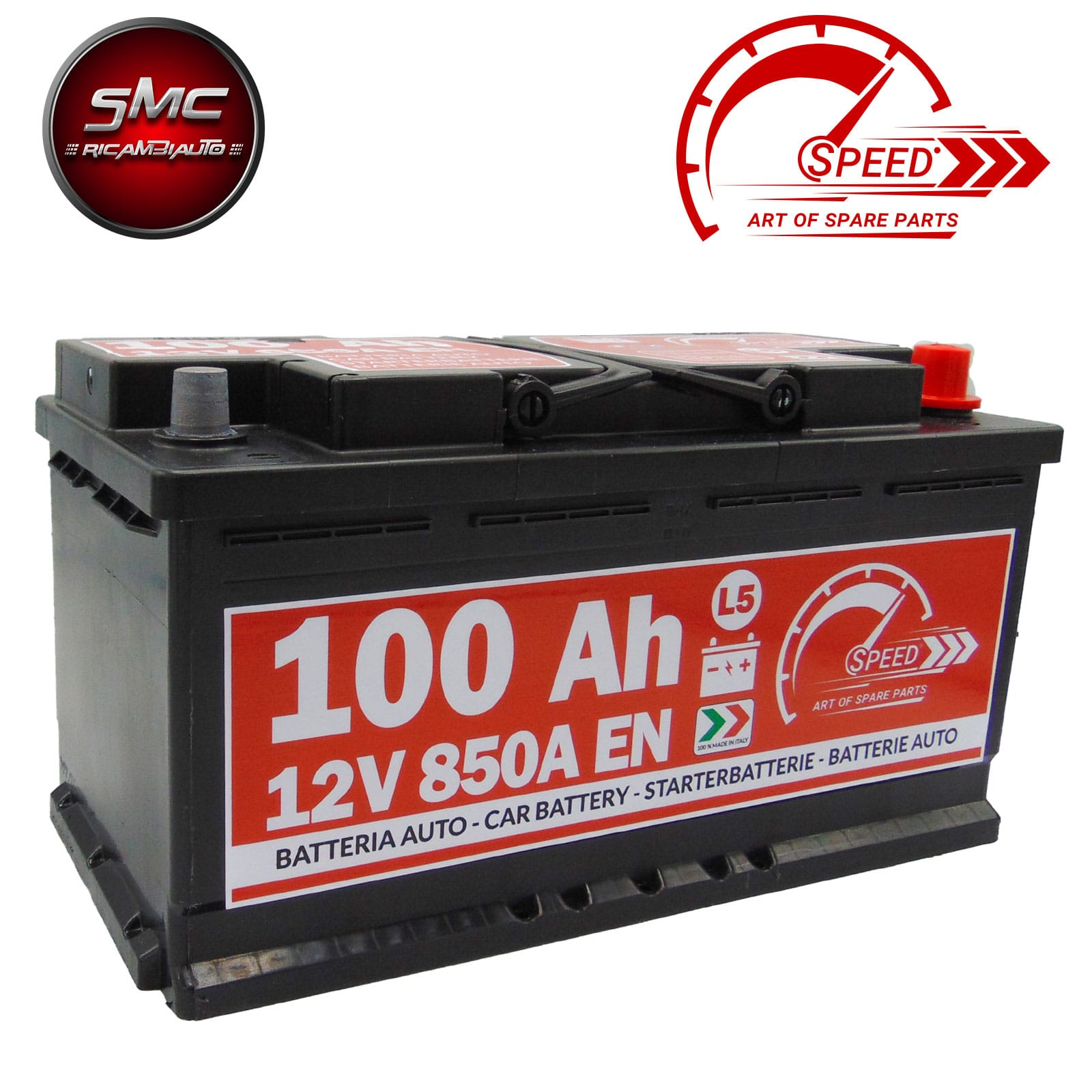 BATTERIA SPEED L5100 100Ah 850A 12V
