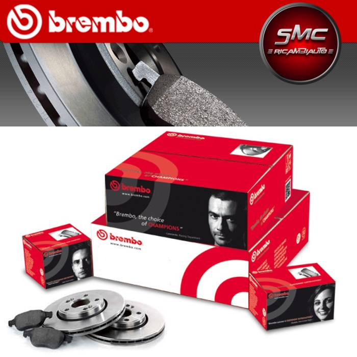 Brembo P59051 Pastiglia Freno Disco Anteriore