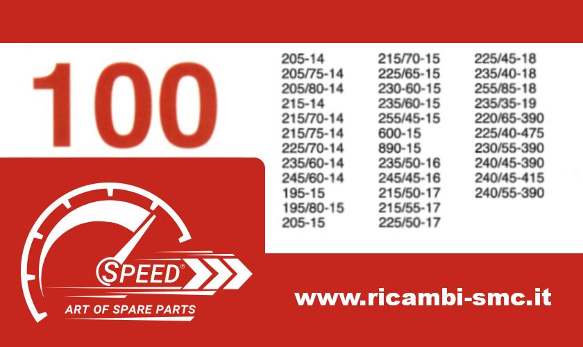Catene da Neve OMOLOGATE Speed 9mm per Pneumatici 215 50 R18 Gruppo 120