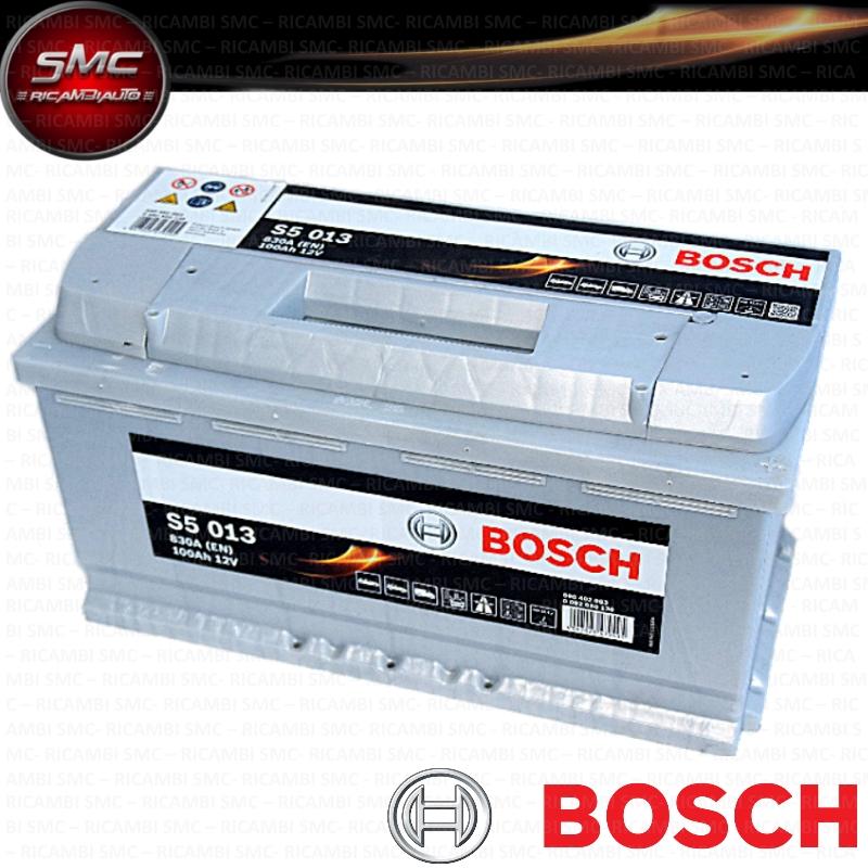 Batteria avviamento bosch 0092s50130 100ah 830a ricambi for Smc ricambi auto