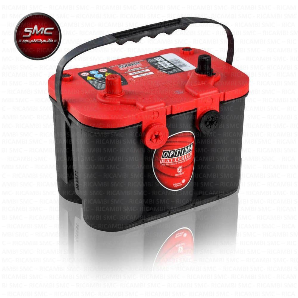 Batteria optima redtop rtc 4 2 801287000 50ah ricambi for Smc ricambi auto