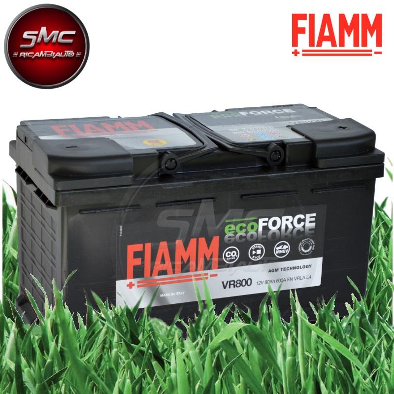 Batteria auto fiamm 7903792 vr800 80ah 800a ricambi for Smc ricambi auto