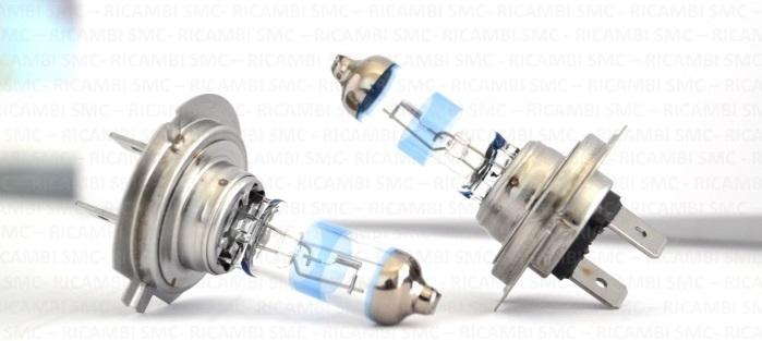Blister 2 lampade lampadine philips h7 x treme vision 130 for Smc ricambi auto