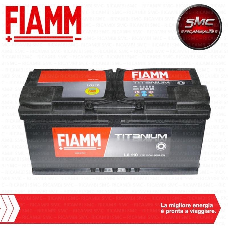 Batteria auto fiamm 7905196 110ah 950a ricambi auto smc for Smc ricambi auto