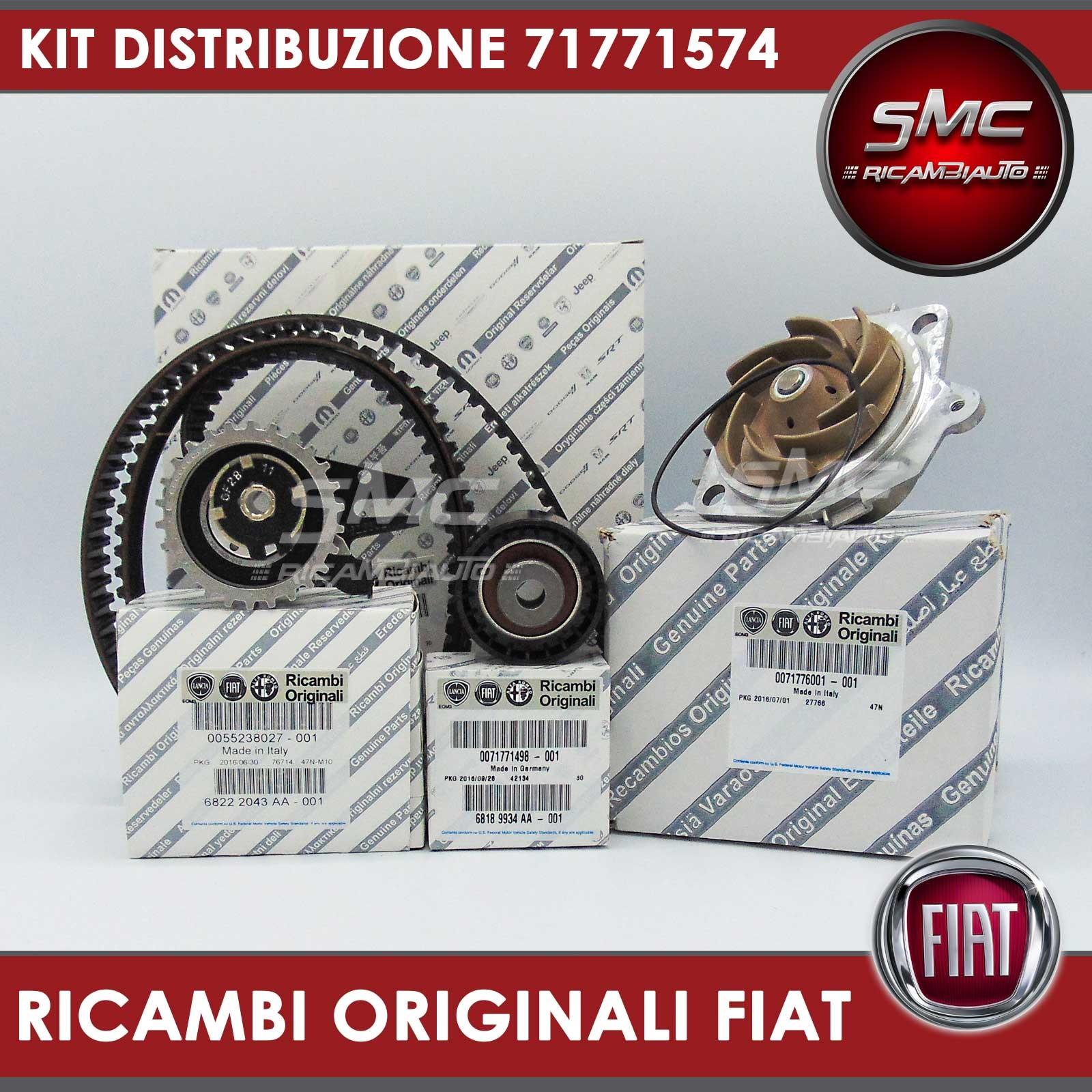 Kit distribuzione originale pompa acqua fiat stilo alfa for Smc ricambi auto