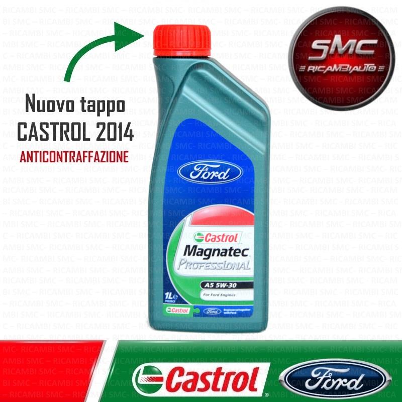 castrol magnatec 5w30  Olio Castrol Magnatec Professional A5 5W30 - Ricambi auto SMC