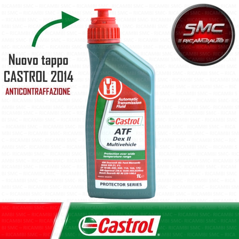 Olio Castrol Atf Dex Ii Multivehicle Lt.1
