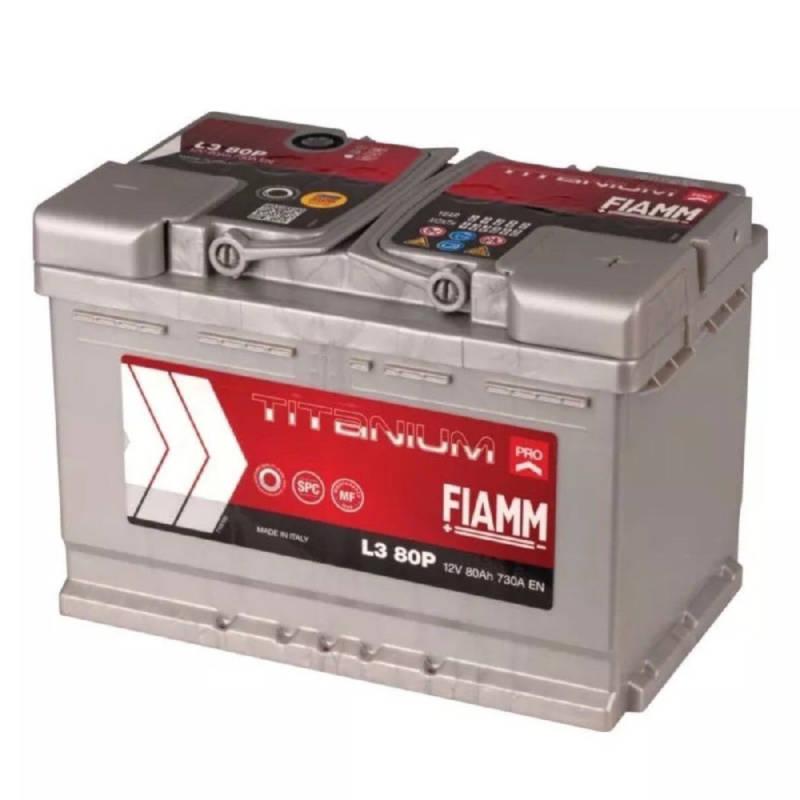 meilleur authentique plus gros rabais complet dans les spécifications Batteria auto FIAMM 80Ah 730A 12V - Ricambi auto SMC
