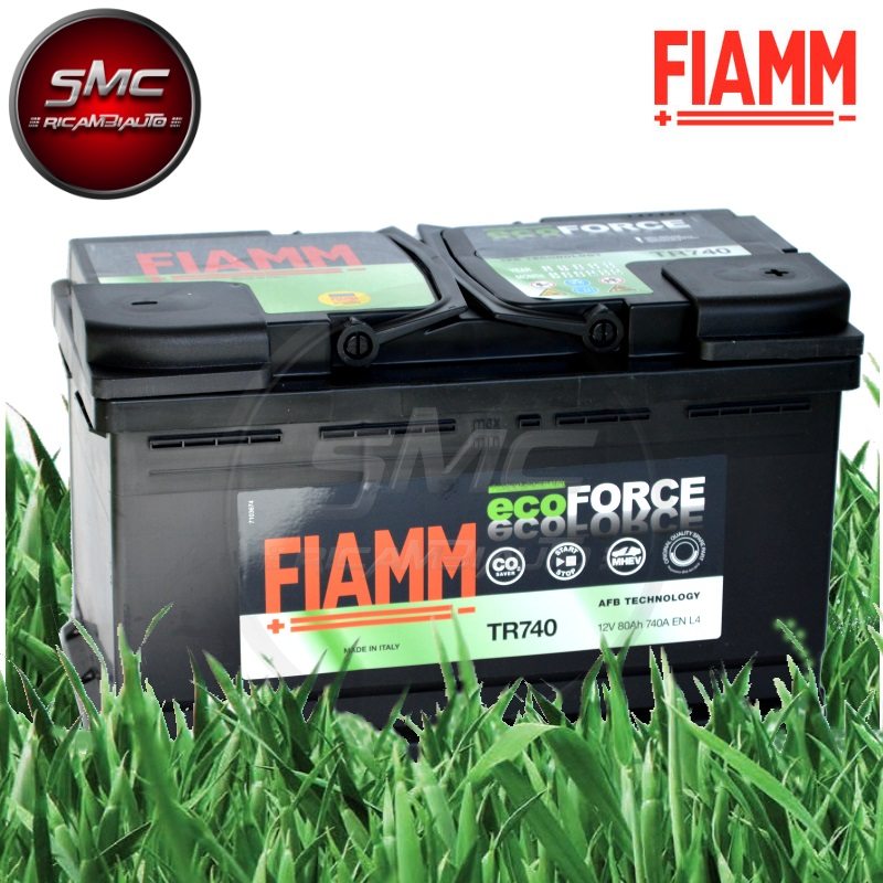 Batteria ecoforce afb tr740 ricambi auto smc for Smc ricambi auto