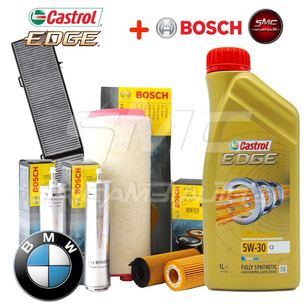 Kit tagliando olio motore boscktb022 cast5w30 ricambi for Smc ricambi auto