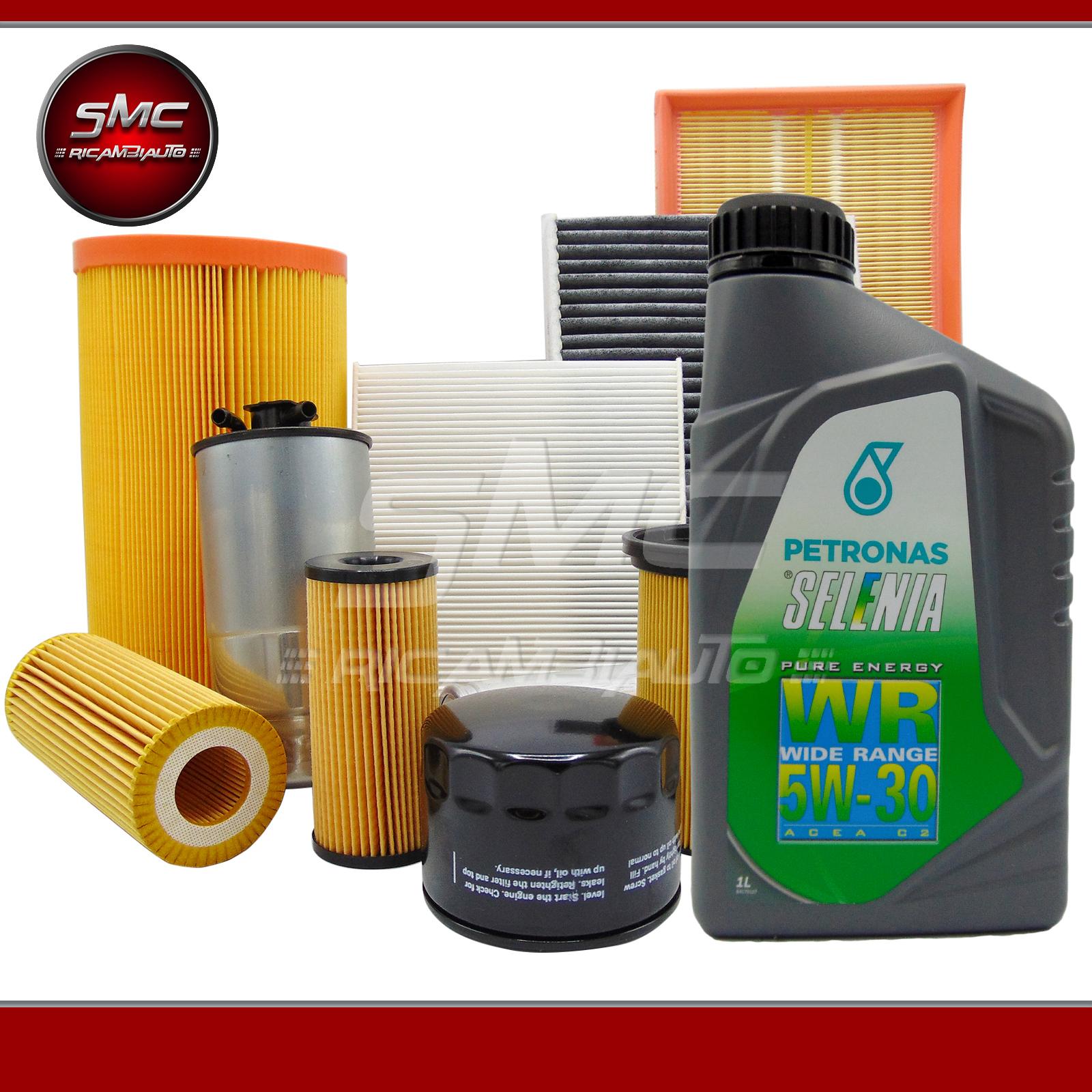 Kit tagliando filtri misti 5lt olio selenia alfa romeo for Smc ricambi auto