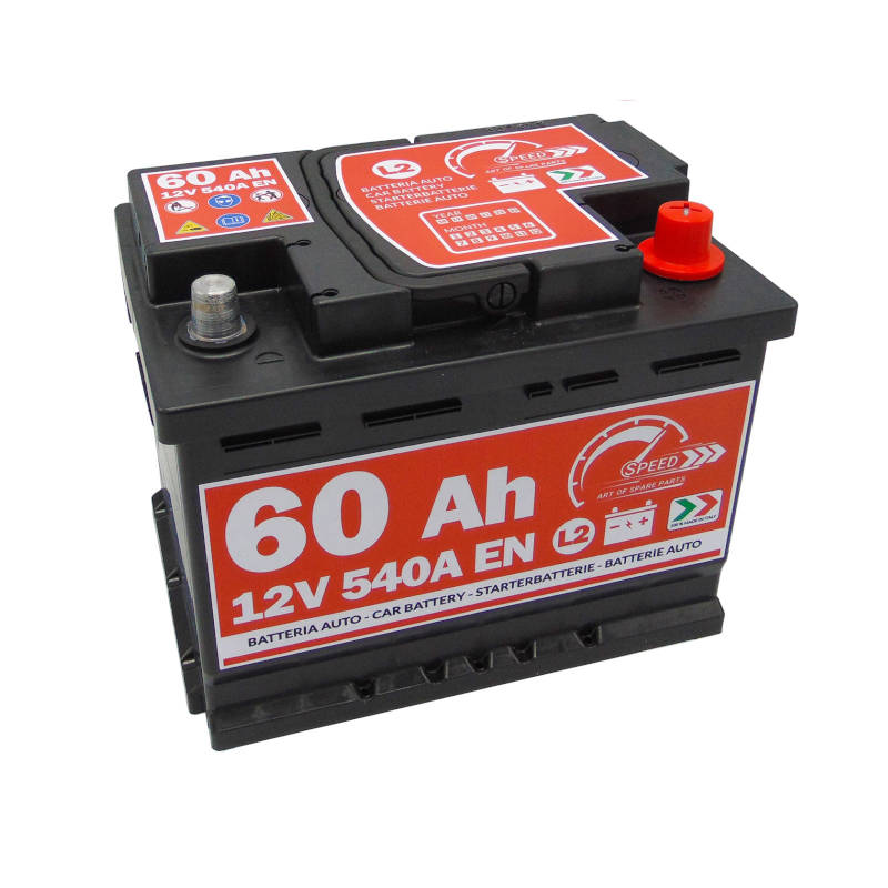 Batteria auto SPEED 12V 60Ah 540A