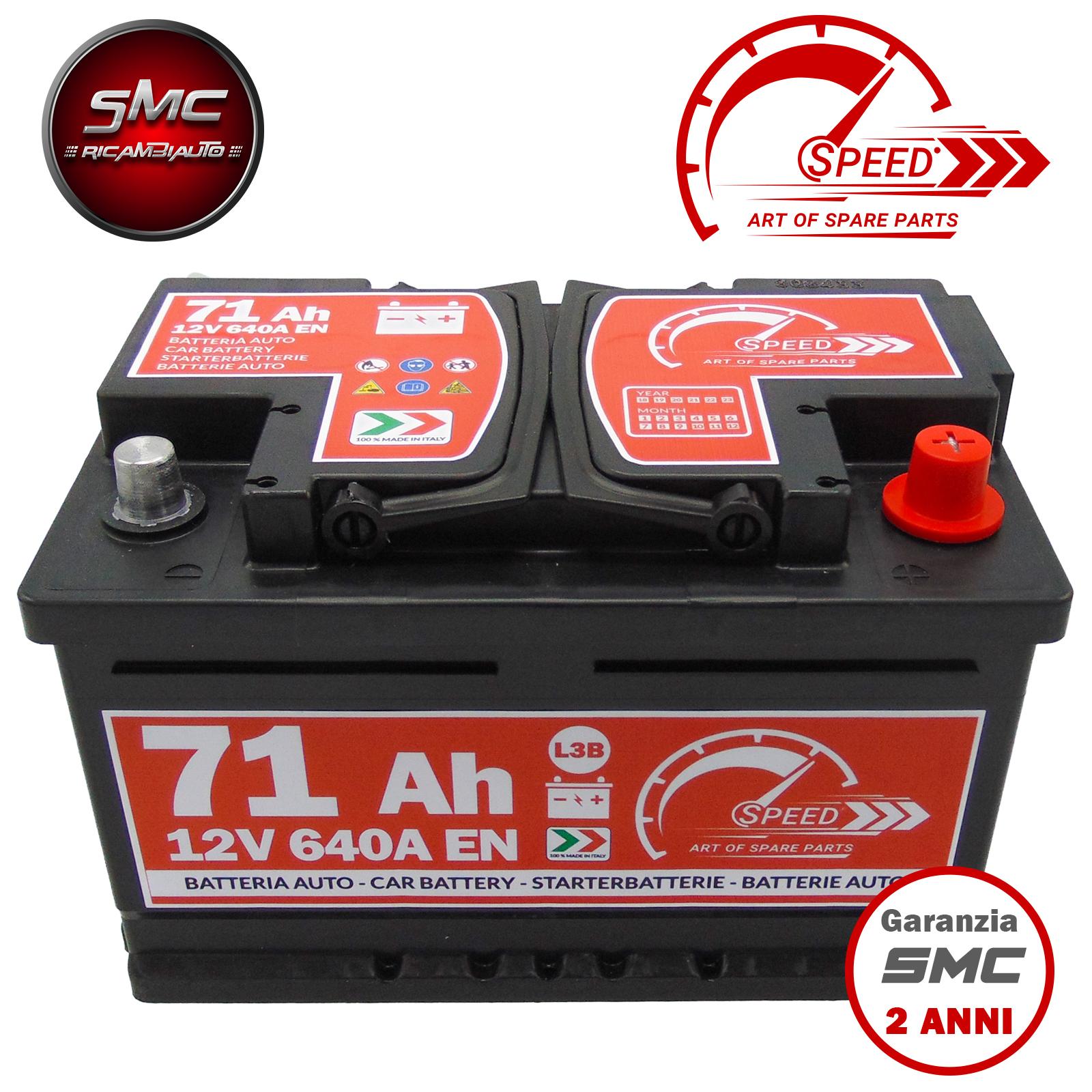 Batteria speed l3b71 ricambi auto smc for Smc ricambi auto