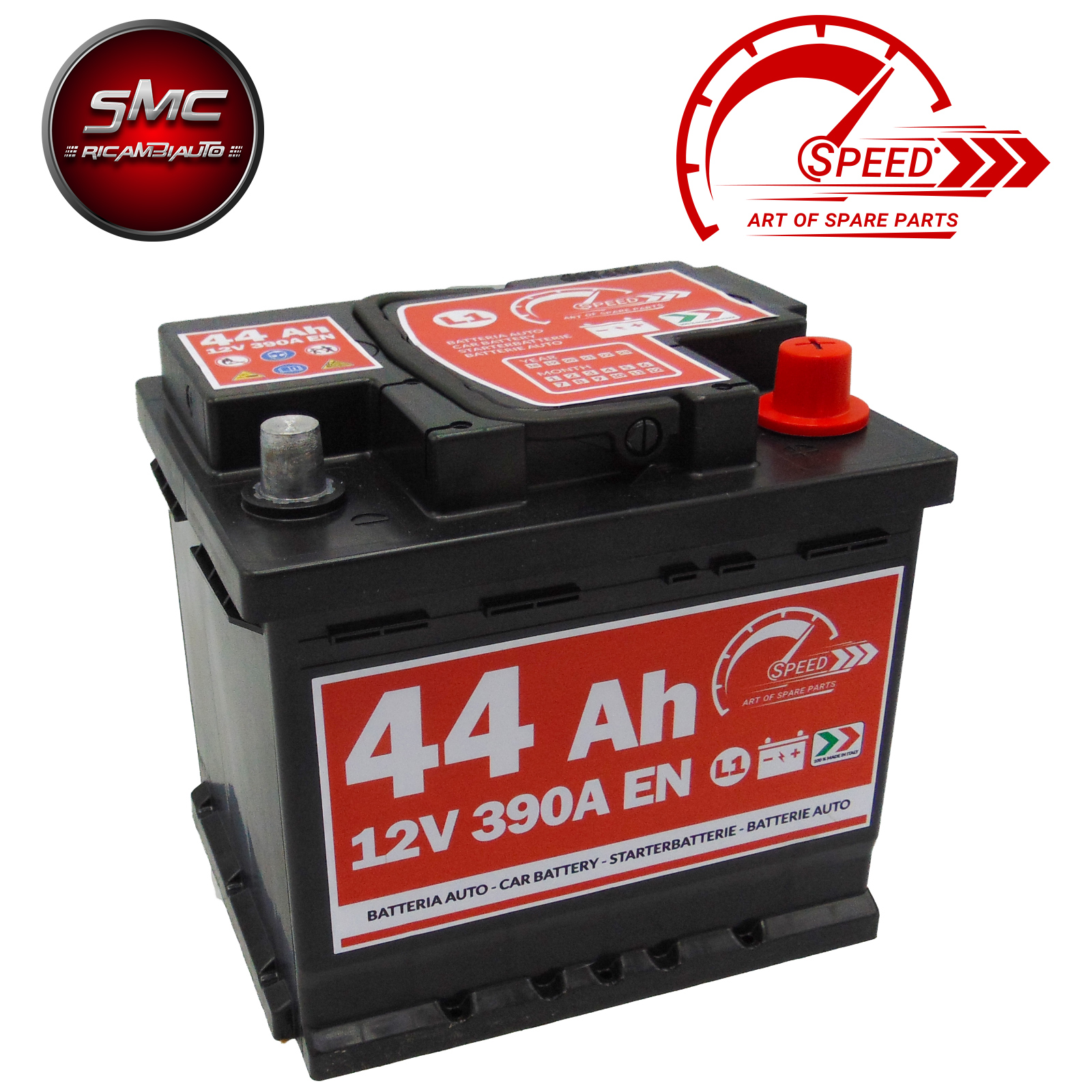 BATTERIA SPEED L144 44AH 390A 12V