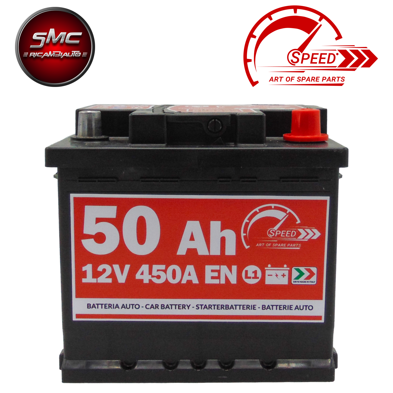 BATTERIA SPEED L150 50Ah 450A 12V