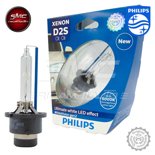 Lampadina PHILIPS D2S 85122WHV2S1